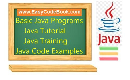 Perfect Java Basic Programs, Java Turial, Java Source Code, Java Programming Examples