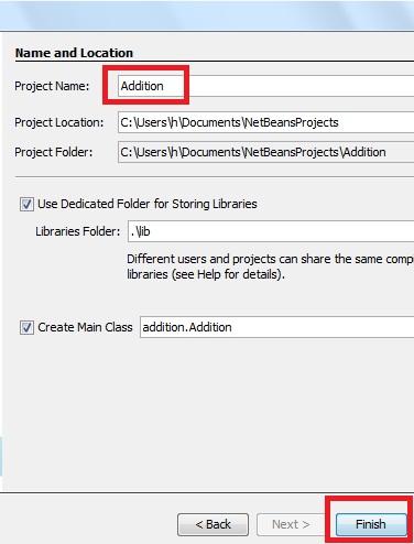 Java Addition Program