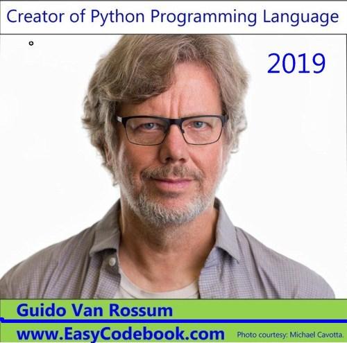 Creator of Python Language - Guido van Rossum